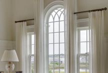 Window treatments / We look through them all the time to admire the view on the other side, but do we think about what's around the window??.... Well now you will after gaining inspiration from this board.