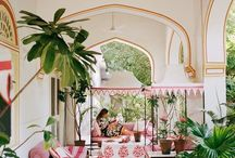 Palm Beach Chic / Palm Beach chic is all about imagination and imagining you are somewhere far more exotic than your really are. Unless you do live in Palm Beach! So for those of you who want to create that look in your home here are some fantastic examples and ideas for you. Enjoy!