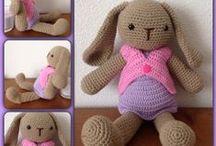 Gehaakte beestjes / amigurumi, crochet animals / Door mijzelf gehaakt