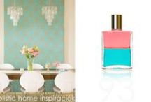*Aura-Soma & Home Decor* Turquoise and Coral