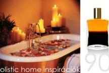 *Aura-Soma & Home Decor* Gold and Deep Magenta Inspirations