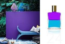 *Aura-Soma & Home Decor* Turquoise and Violet Inspirations