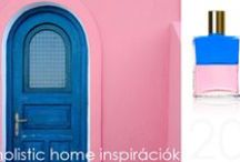 *Aura-Soma & Home Decor* Blue and Pink Inspirations