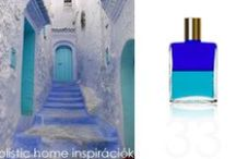 *Aura-Soma & Home Decor* Royal Blue and Turquoise Inspirations