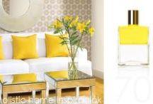*Aura-Soma & Home Decor* Yellow Inspirations