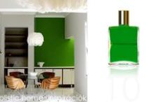 *Aura-Soma & Home Decor* Green Inspirations