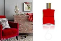*Aura-Soma & Home Decor* Red