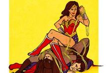 Wonder Woman so awesome she needed her own board!!! / by Naomi Luna
