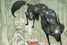 Book\comic illustration / by Rachel-Amber