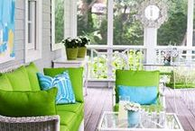 Outdoor living & balcony