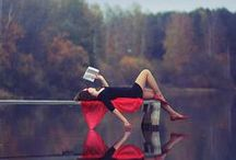 """My escape / """"A writer only begins the book. A reader finishes it"""" - Samuel Johnson"""