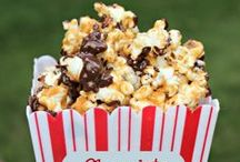 Popping Popcorn / Popcorn recipes to try!