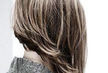 """Hairstyles / """"A woman who cuts her hair is about to change her life."""" ― Coco Chanel"""