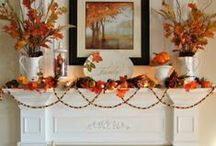 Fall Decorations / Scroll through and see the many different DIY Thanksgiving  and fall decoration ideas!