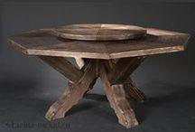 Мебель под старину / Эксклюзивная мебель под старину из массива для дома и дачи
