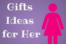 Gift Ideas for Her / Simple but great gift ideas for her! This goes for family members, friends, co-workers, and neighbors. What woman wouldn't want to snuggle up with a cup of tea or coffee? And who wouldn't want to snack on delicious cookies snaps or chocolate truffles? The answer: No women alive would deny her love for comfort or chocolate!