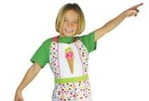 Kitchen Apparel / If you are going to be cooking, don't forget your apron! There are so many aprons that are perfect for younger food fans! Check out the many styles FamousFoods.com provides.