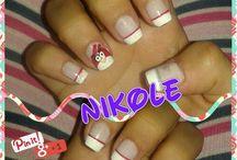 Nails / Diseños y uñas hechas por mi -Nikole Ramirez