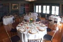 Pen Ryn Mansion -Library / The Library is one of the many rooms located at venue Pen Ryn Mansion. Perfect for smaller Showers, Luncheons, Meetings and more!