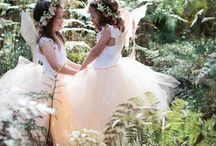Fairytales / Ethereal, magical & dark wedding inspiration
