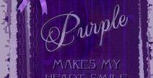 Purple, my passion color.