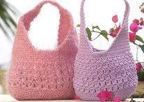 Háčované tašky