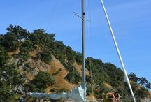 Townson 28 Plywood sailboat / townson yachts