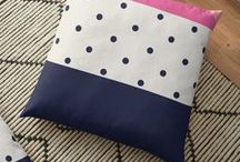 Throw Pillows / fashion, moda, design, home decor,