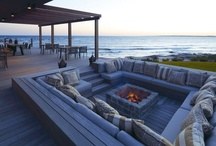 Fire pits & Fire places / by Angela Grenier