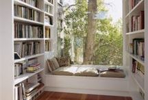 Leseplätze / Wo wir gerne lesen würden