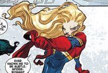 Marvel - Captain Marvel/Ms Marvel/Binary