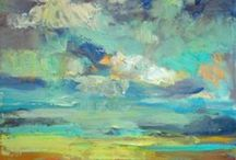 Art:  Landscapes/Seascapes/Cityscapes / by Betty Campbell Dunham