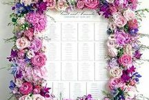 Wedding place settings / Placement - mariage - setting - wedding