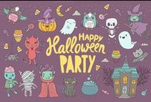 ★ Halloween Resources★ / Everything spooky: halloween graphics, halloween fonts, halloween icons, halloween printables, halloween DIY and more
