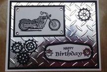 boys cards / Motorbikes!!