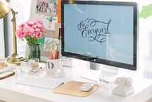 ★ Inspirational workspaces ★ / we all need one of these...