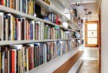 Bookcases ideas / bibliothèques - idées - rangement - décoration
