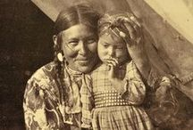Native Americans / Native Americans and pictures of them in the clothing they wore and the activities they were doing