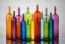 Glass half full / Coloured glass