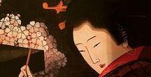 (Jp-E) 葛飾北斎の一門/弟子達・・・葛飾北斎School / 北斎の娘−お栄(葛飾応為)、魚屋北渓(ととやほっけい)、北馬 昇亭北寿など多数