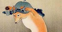 (Jp-MTS) 小原 古邨 Ohara Koson・shoson/hoson / 明治10年(1877年)2月9日-昭和20年(1945年))は、明治時代から昭和時代にかけての浮世絵師、版画家・本名は小原又雄。石川県金沢市に生まれた。古邨、祥邨、豊邨と号した。