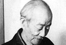 (Jp-MTS) 吉田 博  Hiroshi Yoshida &(吉田遠志Toushi Yoshida) / 吉田博(明治9年~昭和25年/1876-1950)は福岡県久留米市の生まれ。明治32年には中川八郎とともに渡米、言葉もままならない異国で自作を大いに売って生活の資を得るという快挙をなし、アメリカ各地からロンドンやパリを巡って明治34年に帰国しました。以後も外遊を重ねて東西の芸術作法を見つめ、内外の風景に取材して水彩画や油彩画を発表、太平洋画会や官展を舞台に活躍を続けました。 海外で評価が高かった。 [吉田遠志 1911年-1995年 吉田 博の長男]