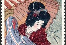 (Jp-MTS)  伊東深水 Shinsui Itou (1898-1972) / 1898年(明治31年)2月4日 - 1972年(昭和47年)5月8日)は、大正・昭和期の浮世絵師、日本画家、版画家。本名、一(はじめ)
