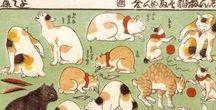 (Jp-EM) 歌川芳藤 Yoshifuji Utagawa / 歌川 芳藤(うたがわ よしふじ、文政11年(1828年) - 明治20年(1887年))は、江戸時代から明治時代の浮世絵師 玩具絵:オモチャ絵 「玩具絵の芳藤」と呼ばれた