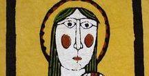 (Jp-¥TS)渡辺禎雄/Sadao Watanabe (1913年-1996年) / 渡辺禎雄-1913−1996 昭和-平成時代の版画家。大正2年7月7日生まれ。型染め版画作家。
