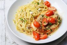 Food Recipes & Ideas / Salads, main course and desserts - recipes and ideas http://www.stripesnvibes.com/