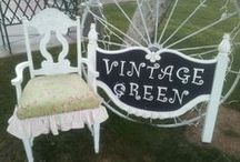 Vintage Green Old Towne Treasures