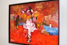 Liz Gallery / Liz Gallery's Abstract Art. All original. Painted in Toronto, Canada. lizgallery@rogers.com
