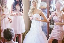 Wedding !!  / Beautiful bride with a gorgeous dress !  / by Laura McCart
