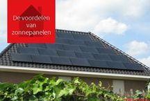 Zonnepanelen weetjes / Wij zetten voor u de voordelen van zonnepanelen op een rijtje: Zonnepanelen zorgen voor een lagere energierekening; Zonnepanelen dragen bij aan een beter milieu; Zonnepanelen verhogen de waarde van uw huis; Zonnepanelen verdienen zichzelf terug; Met zonnepanelen bent u niet meer afhankelijk van prijsstijgingen van energiebedrijven.